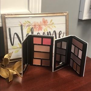 PUR New eye shadow palette and cheek palette